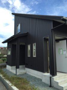新築外壁工事