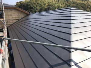 新築屋根工事